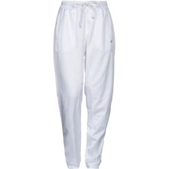 《セール開催中》DEHA レディース パンツ ホワイト S コットン 55% / ポリエステル 45%
