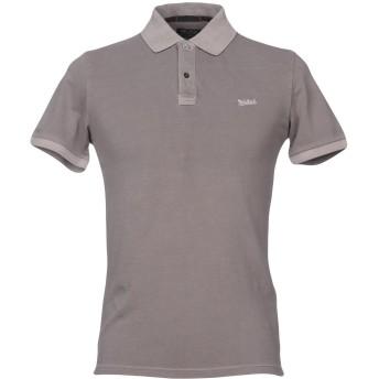 《セール開催中》WOOLRICH メンズ ポロシャツ ドーブグレー S コットン 95% / ポリウレタン 5%
