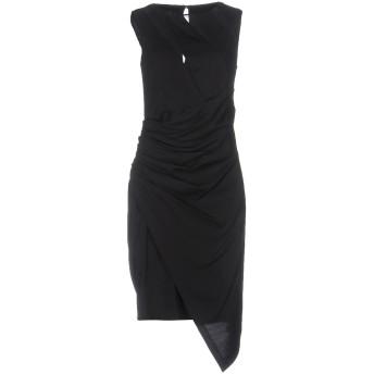 《セール開催中》HANITA レディース ミニワンピース&ドレス ブラック XS 91% レーヨン 6% シルク 3% ポリウレタン