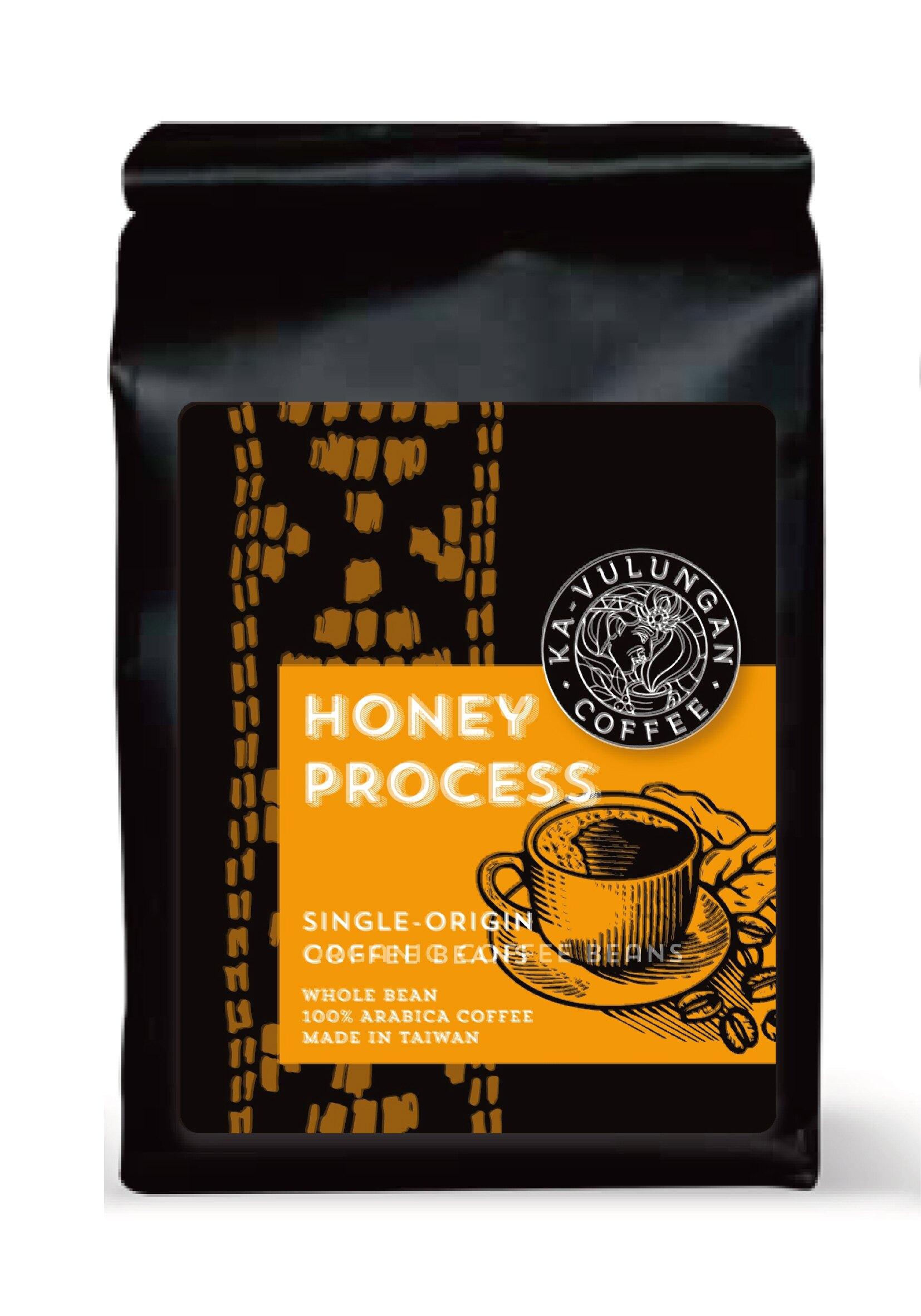 蜜處理- 咖啡豆- 中焙    Honey Process-Coffee Beans-Medium Roasted     112.5g/包