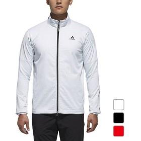 アディダス メンズ ゴルフ ウェア 長袖ウインドブレーカー JP CP ジオメトリックプリント L/S ジャケット CCS57 adidas