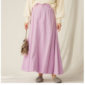 【J Lounge:スカート】【socolla】コールテンフレアスカート