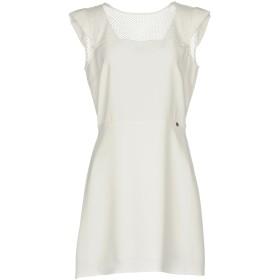《セール開催中》LIU JO レディース ミニワンピース&ドレス ホワイト 42 ポリエステル 100% / ナイロン / ポリウレタン