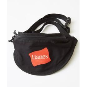 【improves:バッグ】【Hanes】ウエストバッグ