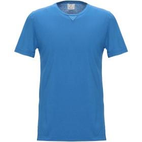《セール開催中》DRUMOHR メンズ T シャツ アジュールブルー M コットン 100%