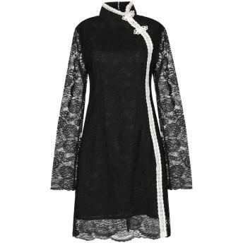 《セール開催中》JOVONNA レディース ミニワンピース&ドレス ブラック 8 ポリエステル 100%