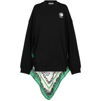 《セール開催中》BROGNANO レディース スウェットシャツ ブラック XS コットン 100% / ポリエステル