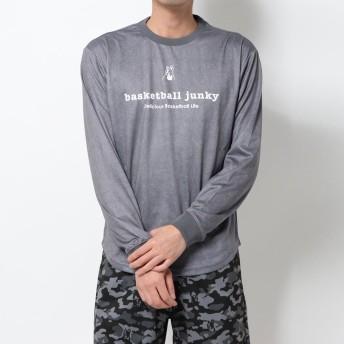バスケットボールジャンキー basketball junky バスケットボール 長袖Tシャツ カカッテコイバスケ+5 ロングDryTEE BSK19509