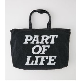 【AZUL by moussy:バッグ】【MEN'S】LIFE LOGO DENIM BIG TOTE BAG