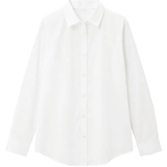 (GU)レギュラーシャツ(長袖)Z+E WHITE S