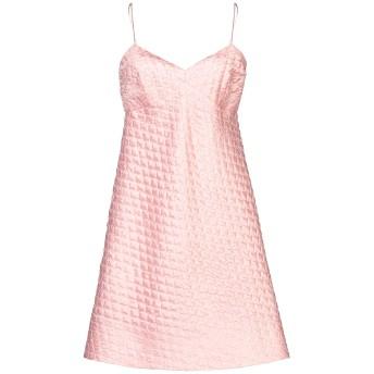 《セール開催中》ERMANNO SCERVINO レディース ミニワンピース&ドレス ピンク 42 ポリエステル 56% / シルク 23% / ナイロン 21%