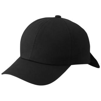 (GU)バックリボンキャップ BLACK