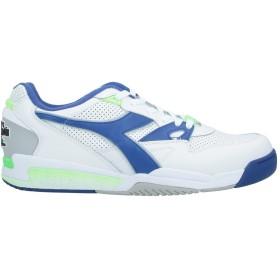 《セール開催中》DIADORA メンズ スニーカー&テニスシューズ(ローカット) ホワイト 6.5 革 / ゴム