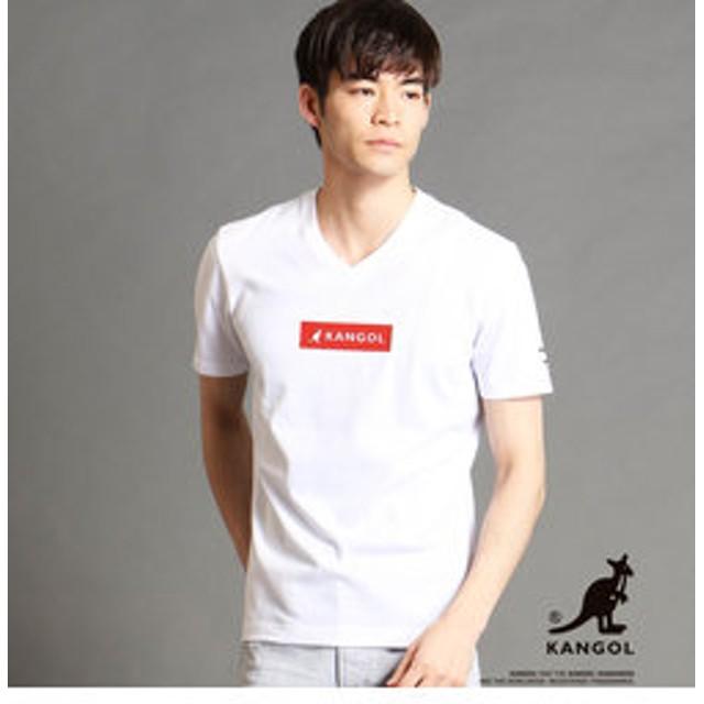 【NICOLE:トップス】KANGOLコラボVネックTシャツ