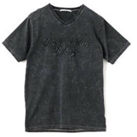 【メンズビギ:トップス】刺繍Tシャツ