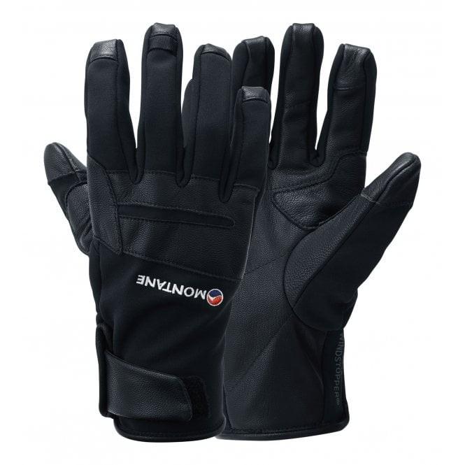Montane Cyclone Glove 可觸控 WINDSTOPPER 賽克隆抗風羊皮手套 黑 GCYGLBLA
