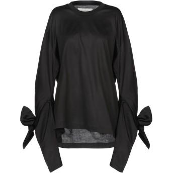《セール開催中》MARQUES' ALMEIDA レディース T シャツ ブラック S コットン 100%