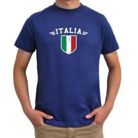 Italia flag Tシャツ