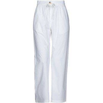 《セール開催中》RUE8ISQUIT レディース パンツ ホワイト 42 コットン 100%
