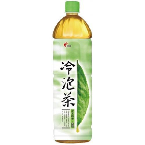 光泉 冷泡茶-冷萃綠茶(無糖)(1235ml/瓶)[大買家]