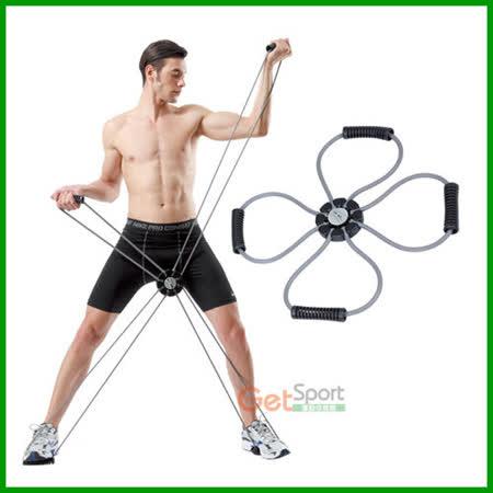 多功能可調式彈力繩(健美繩/彈力帶/門扣拉繩/拉力器)