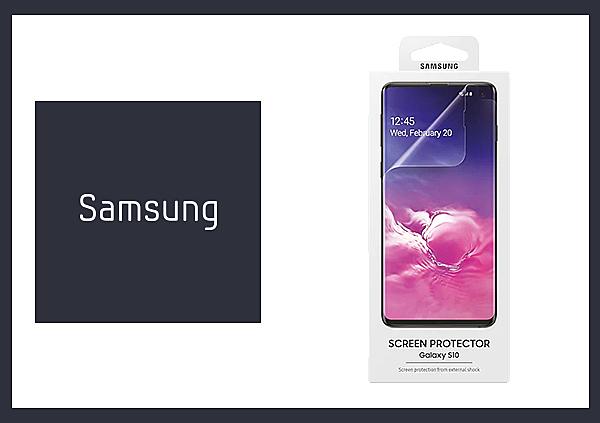 SAMSUNG GALAXY S10 原廠螢幕保護貼 (台灣公司貨)