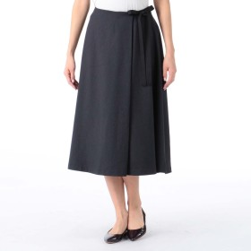MELROSE CLAIRE(メルローズ クレール)/二重織フレアースカート