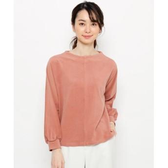smart pink(スマートピンク) 【手洗い可】起毛ジャージプルオーバー