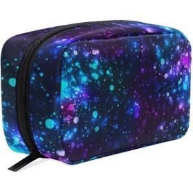 GUKISALA 化粧ポーチ,虹の輝く光のキラキラのベクトルの背景,大容量コスメケース多機能旅行用高品質収納ケース メイク ブラシ バッグ 化粧バッグ ファッションバッグ