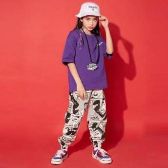 キッズダンス衣装 ヒップホップ HIPHOP 子供 デニムジャケット デニムパンツ ジーンズ セットアップ 男の子 女の子 df106