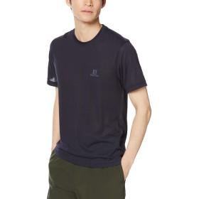 [サロモン] アウトドア Tシャツ EXPLORE SHORT SLEEVE TEE MEN (エクスプロアー ショート スリーブ ティー メンズ) NIGHT SKY S (日本サイズM相当)