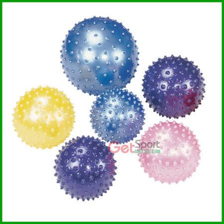 顆粒瑜珈小球(送充氣筒)(指壓按摩球/韻律小球/彈力球/刺球)