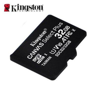 金士頓 32G CANVAS Select+ microSD C10 記憶卡 (KTCS2-32G)