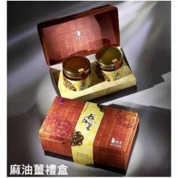 【清亮生態農場】麻油薑禮盒組(420公克 *2瓶)
