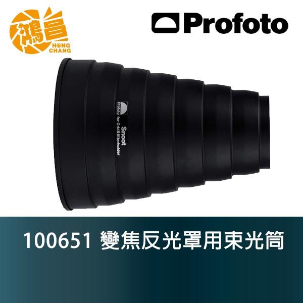 Profoto 變焦反光罩用束光筒 100651 Snoot for Zoom Reflector 佑晟公司貨【鴻昌】