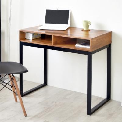 《HOPMA》DIY巧收復古工作桌/書桌-寬90x深50x高78cm