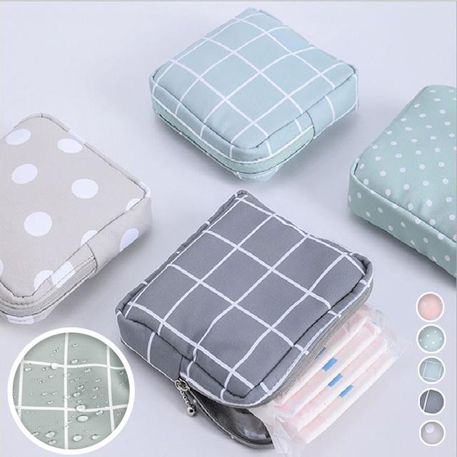 防潑水衛生棉萬用收納包