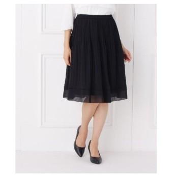 SHOO・LA・RUE(Ladies)(シューラルー(レディース))【洗濯機可】ランダムプリーツスカート