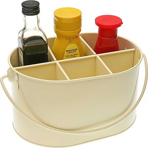 《VERSA》調味罐收納籃(奶油黃)