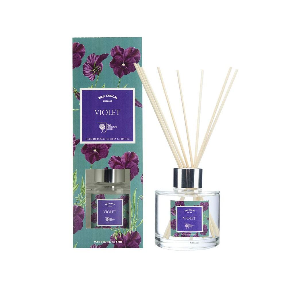 【WAX LYRICAL】紫羅蘭香氛/擴香瓶 RHS系列(共兩款容量可供選擇)