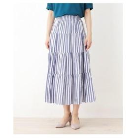 SOUP(スープ)【大きいサイズあり・13号・15号】INCEDE ティアードデザインスカート