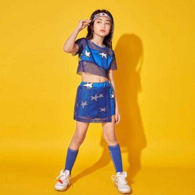 キッズダンス衣装 ヒップホップ HIPHOP 子供 デニムジャケット デニムパンツ ジーンズ セットアップ 男の子 女の子 df105
