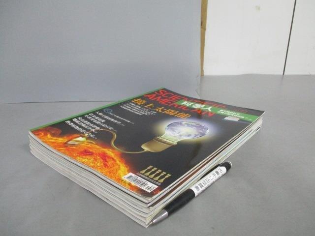 【書寶二手書T5/雜誌期刊_FM4】科學人_72~80期間_共6本合售_接上太陽能