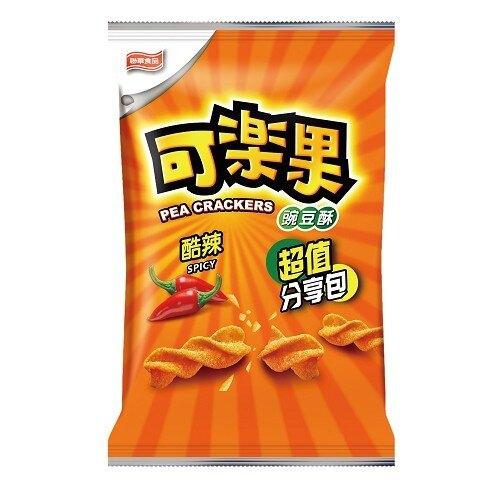 聯華 可樂果 豌豆酥-酷辣 240g【康鄰超市】