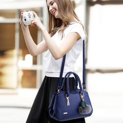 【BONum 博紐】時尚韓版簡約百搭手提包