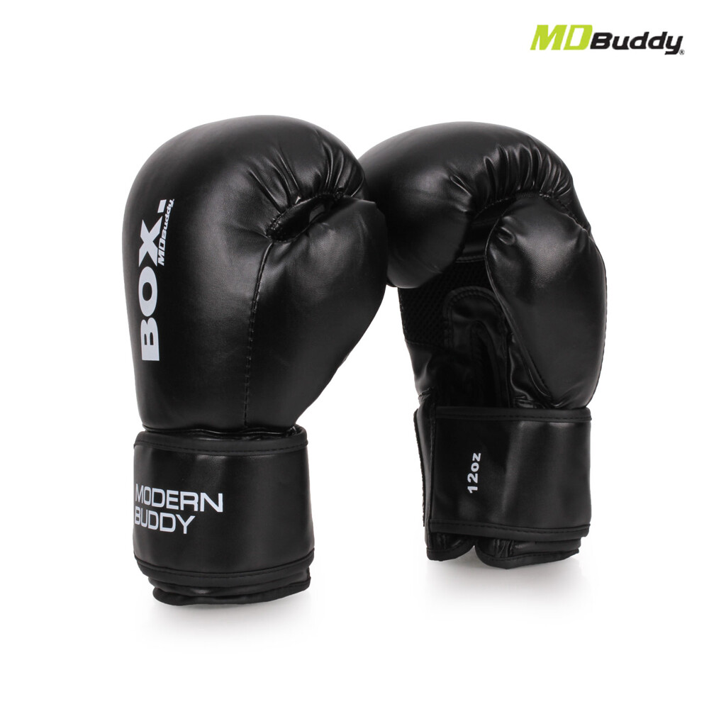 mdbuddy 12oz 拳擊手套-12盎司 健身 搏擊 訓練 隨機