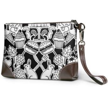 バッグ 動植物の芸術的なデザイン クラッチバッグ セカンドバッグ 本革 人気 カジュアル 軽量 大容量 高級感 薄い 財布 結婚式 披露宴 フォーマルバッグ