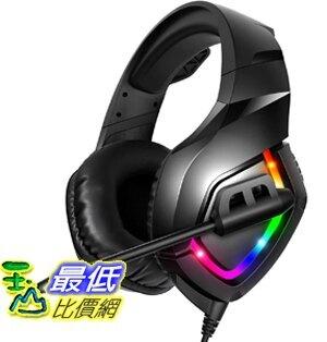 [8美國直購] 遊戲耳機 RUNMUS Gaming Headset PS4 Headset with 7.1 Surround Sound, Xbox One Headset with Noise