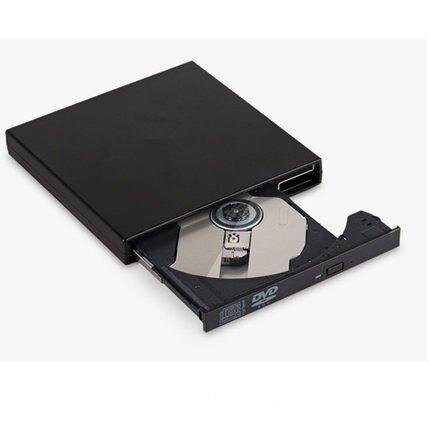 電腦USB外置光驅DVD VCD播放機筆記本便攜移動光驅 CD刻錄機免驅