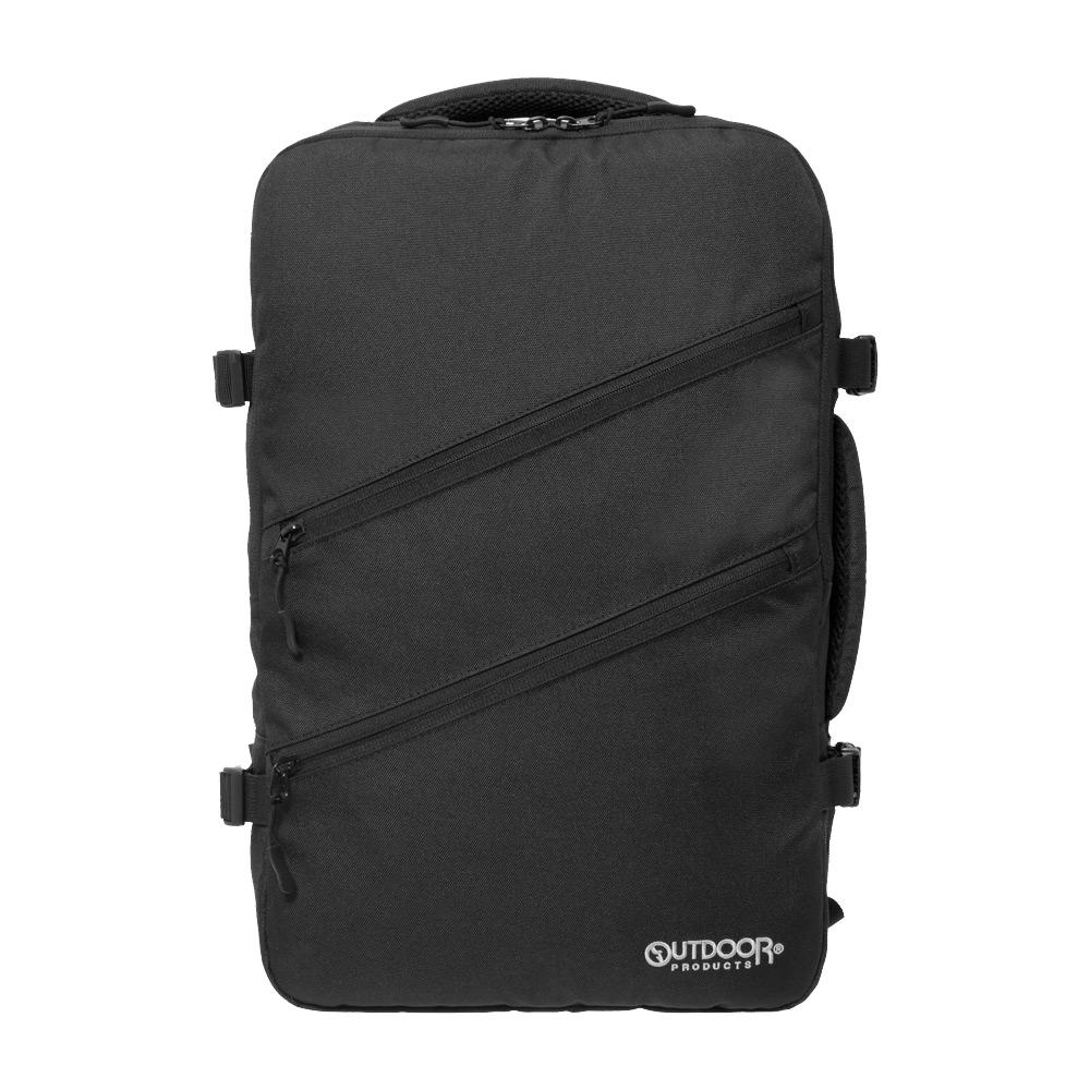 【OUTDOOR】悠遊寰旅-17吋筆電後背包-黑色 OD191122BK